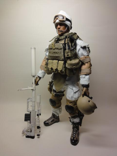 White Ghost Sniper Sam Al Stoys